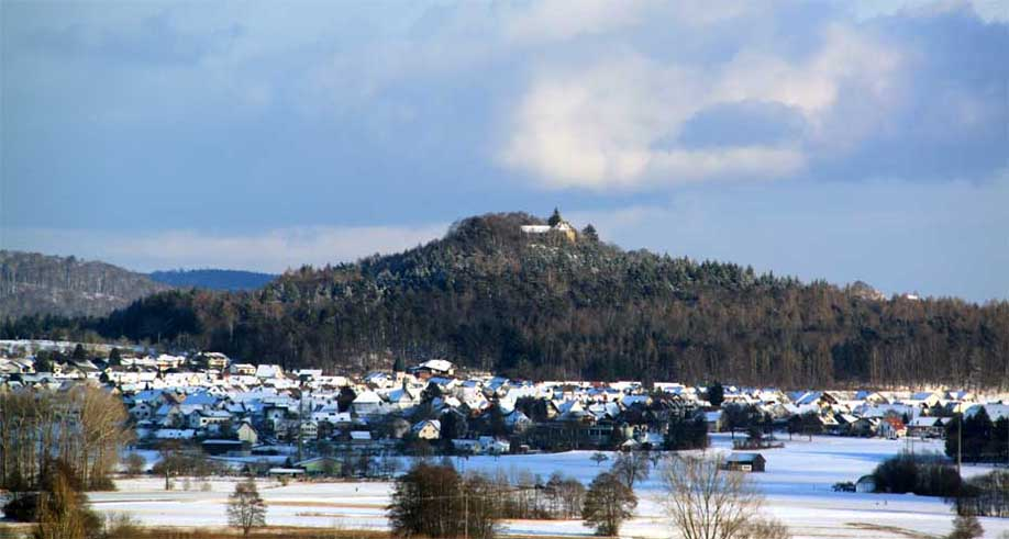 Friedingen im Winter